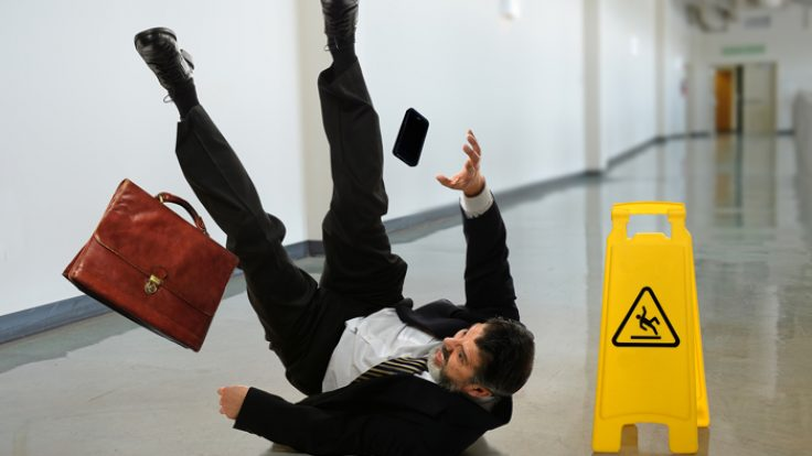 Slip and Fall in a Public Place – Who is Liable?